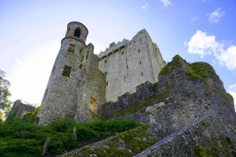 Blarney Castle Kissing