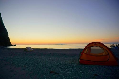 Camping Baja Mexico