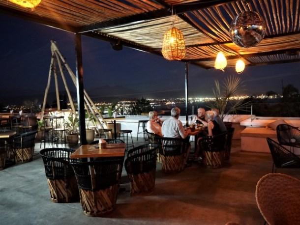 Casa Luna manzanillo restaurant at night