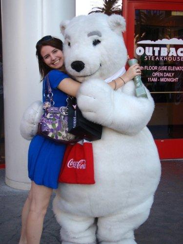 Coca cola mascot las vegas