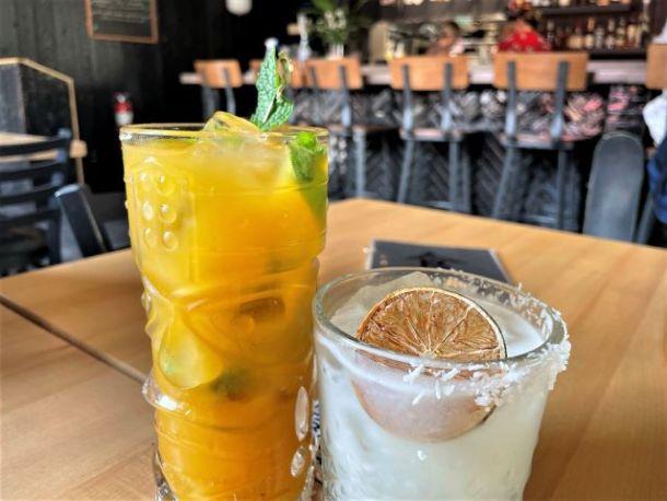 Cocktails at Shoku Izakaya Banff
