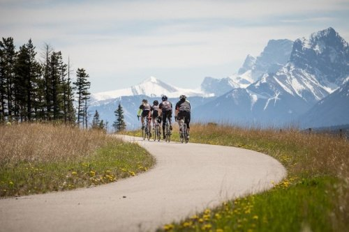 Biking in Canadian Rockies Signature travel experince