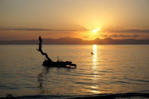Loreto mexico sunrise