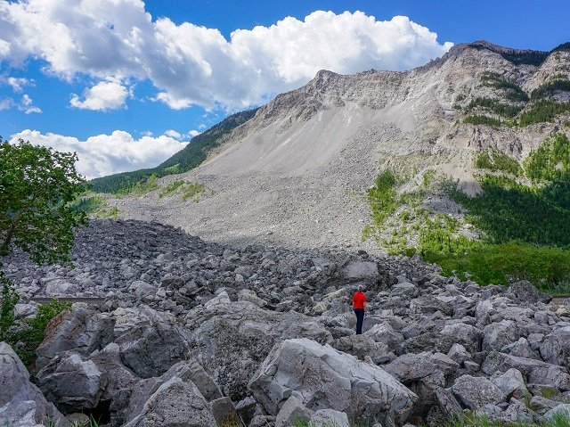 The Frank Slide – Fast, Furious and Unforgiving