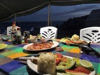 Dinner Mar Y Aventuras camp