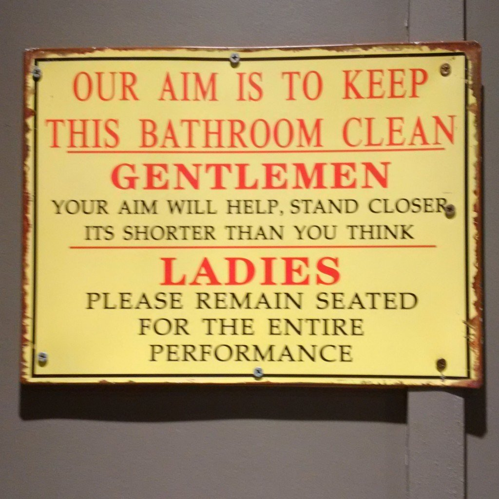 Funny bathroom signs for cleanliness - Funny Australia Toilet Sign
