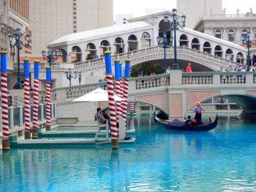 Gondola attraction Las Vegas