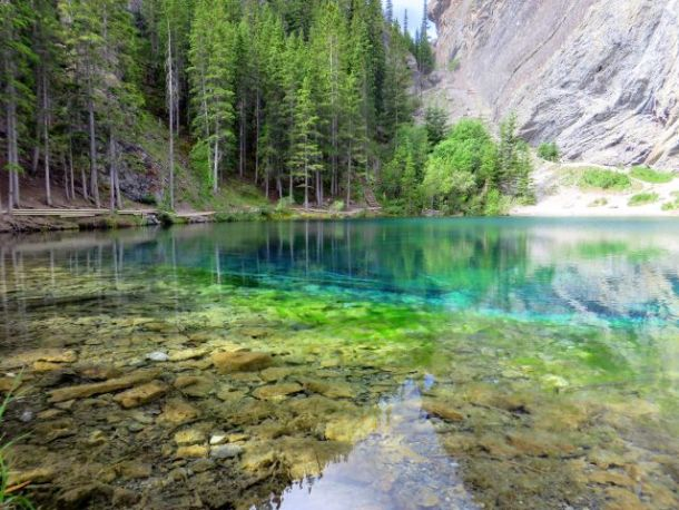 Grassi Lakes Canmore Hiking
