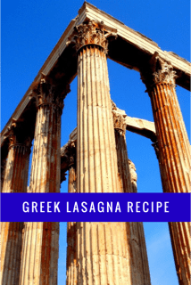Greek lasagne