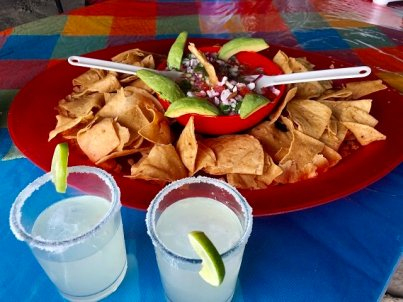 Happy hour at Mar Y Aventuras Whale Watching Camp