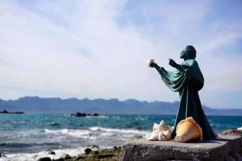 Jesus of the sea Statue El Pardito