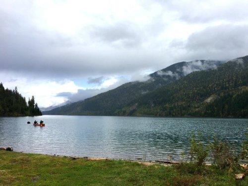 Lake Revelstoke Canoe