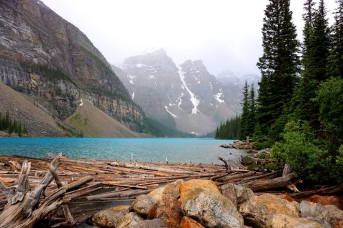 Morraine Lake Canada Road Trip
