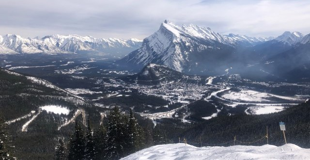 Mount Rundle from Mount Norquay
