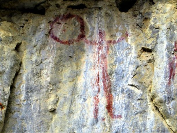Pictographs Canmore