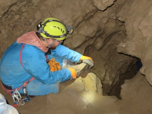 caving near canmore Canadian signature travel activity.