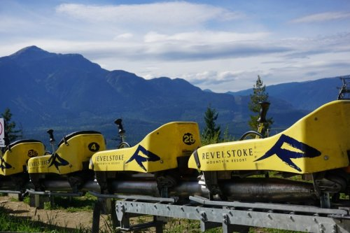 Revelstoke Mountain Coaster