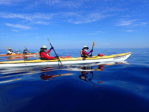 Sue and Dave Baja Kayaking