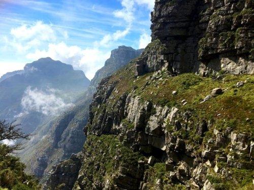 Table Mountain hiking Views