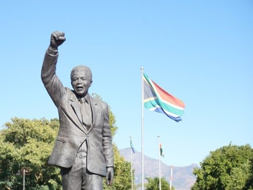 Long Walk to Freedom statue Nelson Mandela