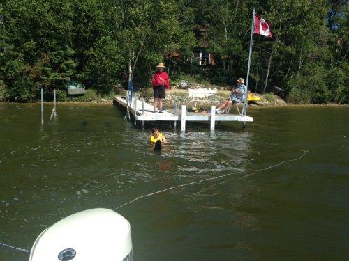 Water ski start