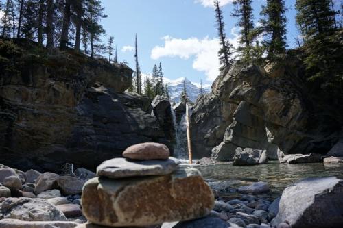 Waterfall Alberta Rockies