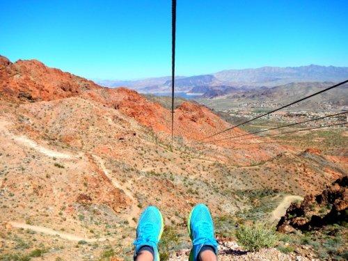 Visit Las Vegas zip line