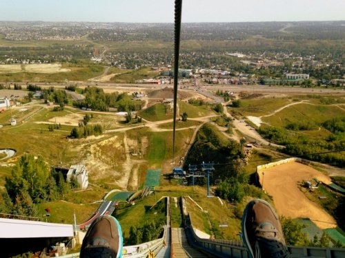 adrenaline combo Calgary signature travel activity