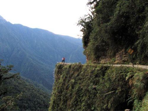 death-road - Bolivia