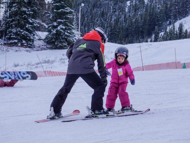 ski lessons Banff Mount Norquay