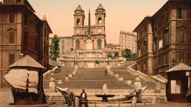 Photo of صور بالالوان لمدينة روما الايطالية عمرها 126 عام