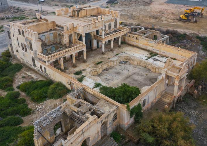 بالصور : لقطات رائعة من كاميرا طائرة بدون طيار للمناطق الاثرية في المملكة 14