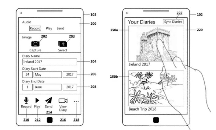 براءة اختراع من مايكروسوفت حول نظام إنشاء مذكرات السفر الآلي 1
