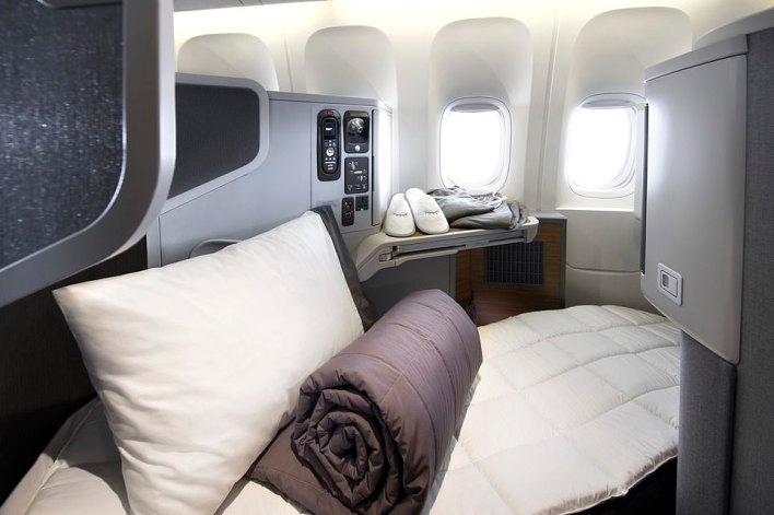 بالصور : مقصورة درجة رجال الاعمال في اكبر شركة طيران بالعالم 2
