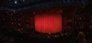 Inside the 'O' Theatre at the Bellagio