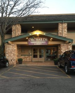 Lobby Entrance of the Orchards Inn in Sedona