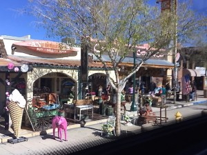 A Street View passing by Boulder City
