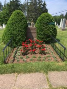 Gravesite of L.M. Montgomery and her Husband