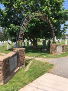 Cavendish Cemetery Entrance Gate