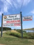 Entrance Sign at Anne of Green Gables Museum