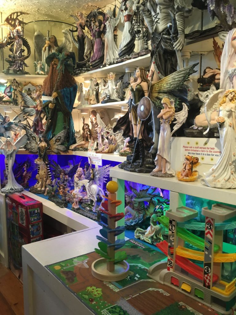 Figurines of Fairies and Wizards and More