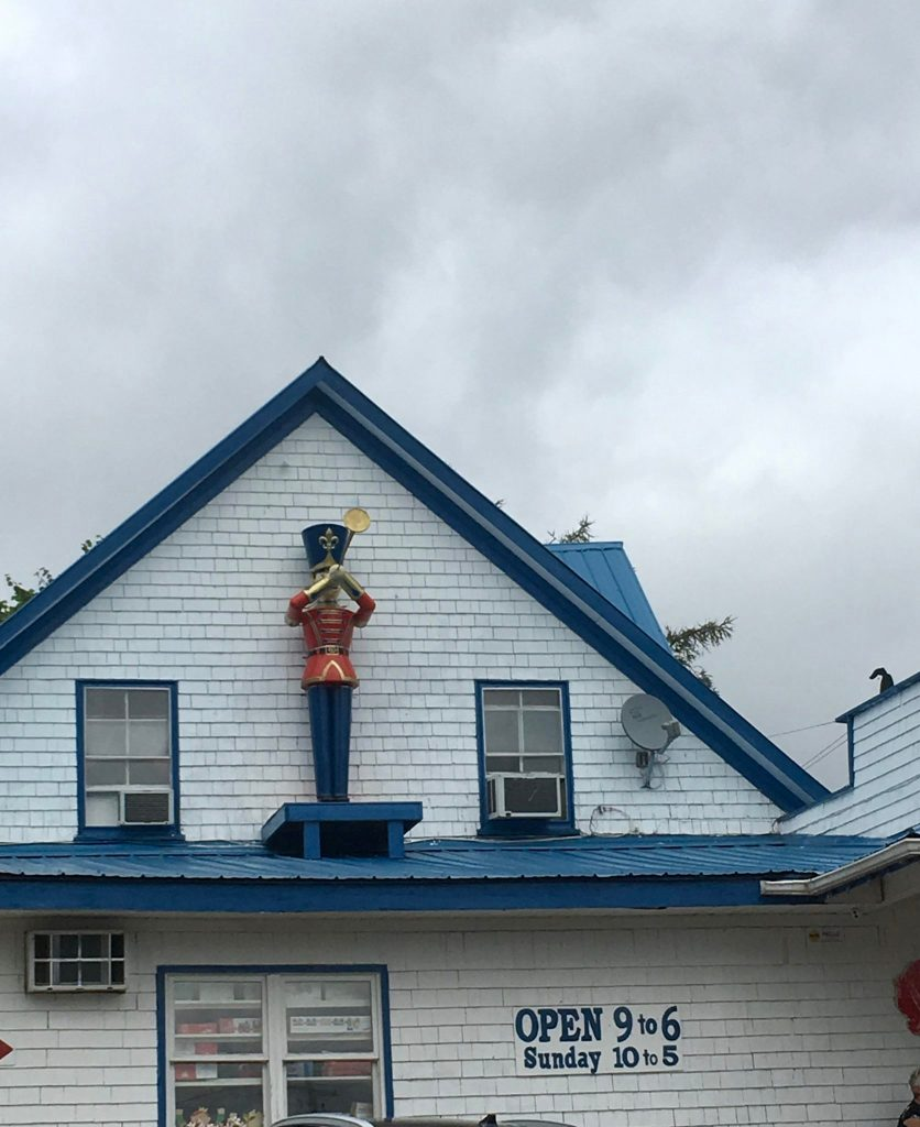 Nutcracker on the Roof of the Toy Factory