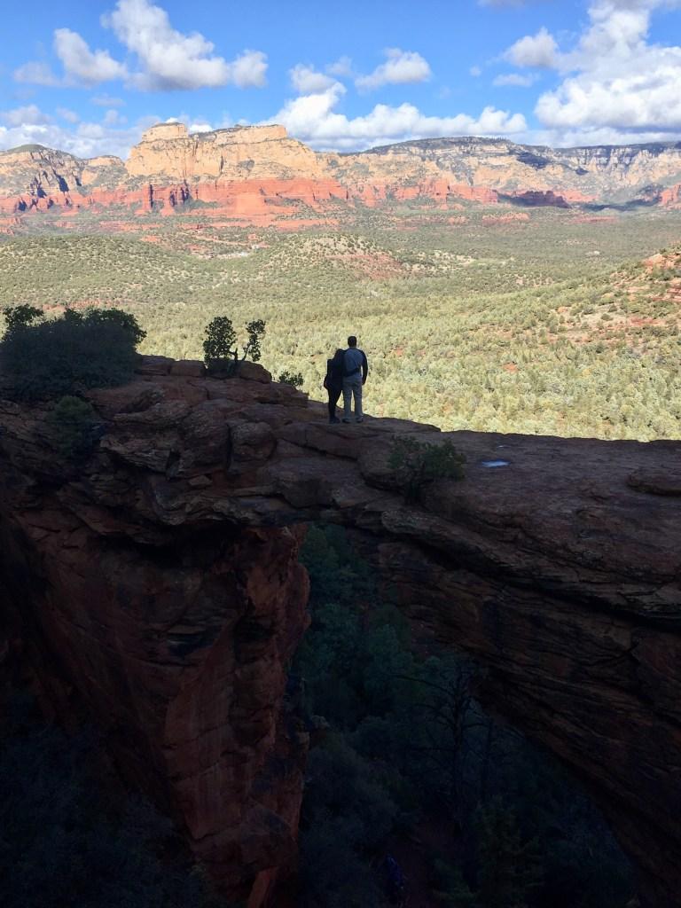 Jeff and I on the Devil's Bridge