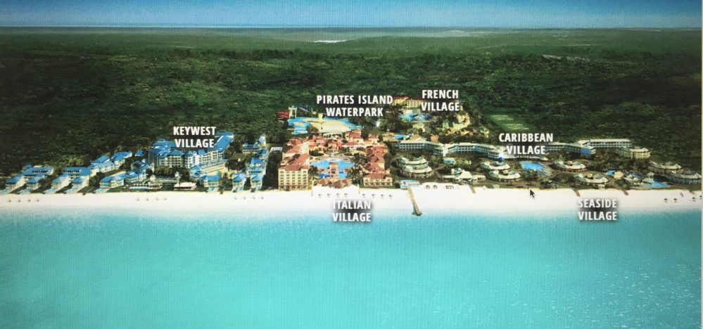 Aerial Map of Beaches Turks and Caicos