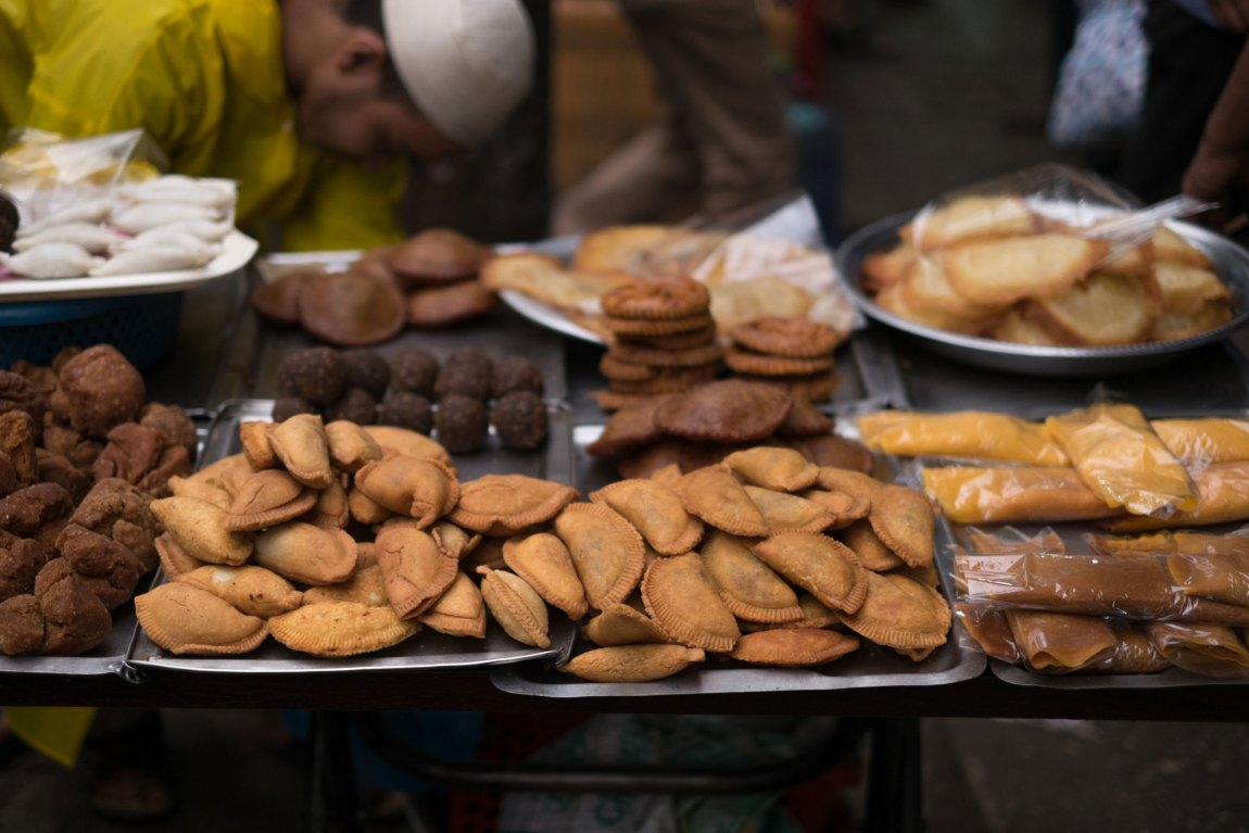 A table of sweet pastries.