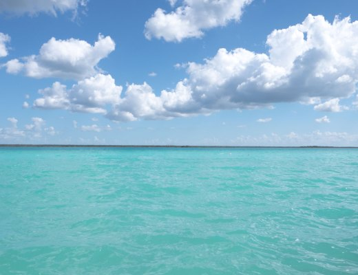 A view over Lake Bacalar