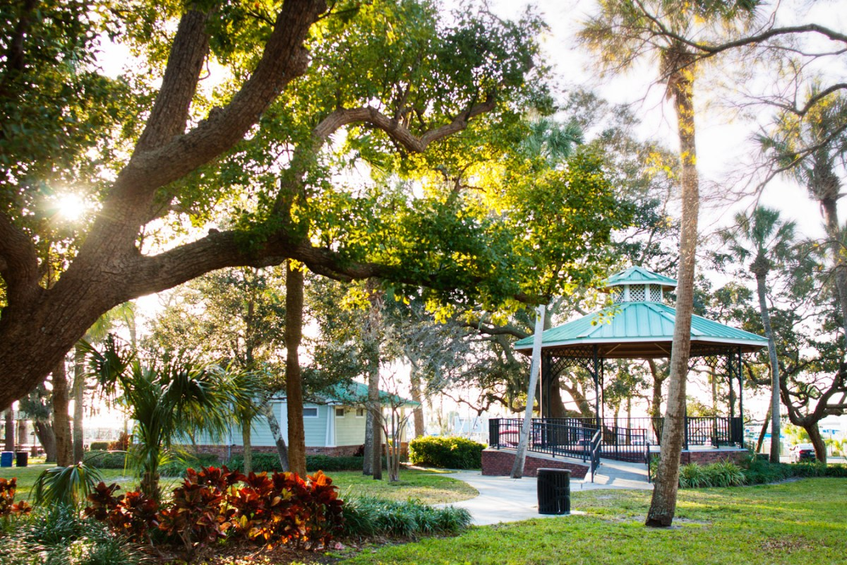 Dunedin, FL makes for a great day trip from central Florida, full of artsy details and a friendly vibe