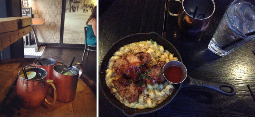 Moscow Mules and Mac and Cheese at Prohibition - Columbus, Ohio