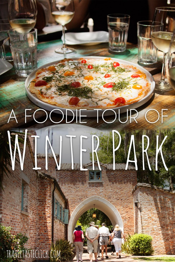 For a fun afternoon, take a walking food tour of Winter Park, FL with Orlando Food Tours. Sample food, drink & learn some local history!