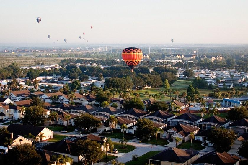 Orlando Florida hot air balloon ride with Bob's Balloons